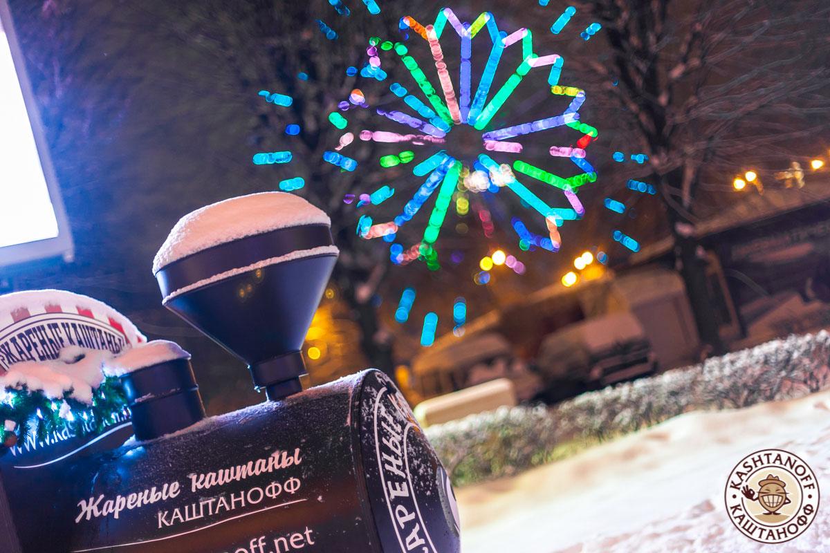 Каштанофф. Новогодние ярмарки. ВДНХ ночью